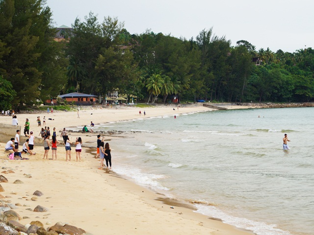 Beach at Damai Central