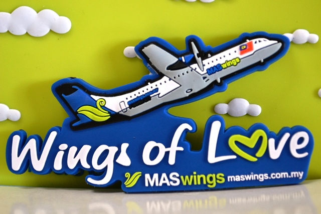 MASwings Fridge Magnet