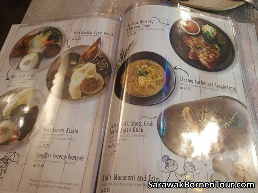 coffee shop sarawak