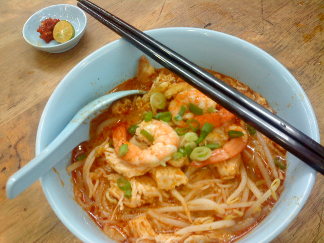Sarawak Laksa at its best and very popular. Not to be missed!